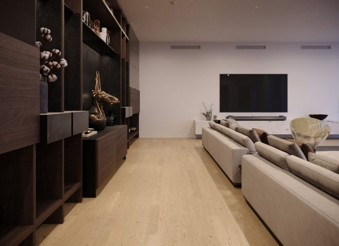 mahattan living room penthause