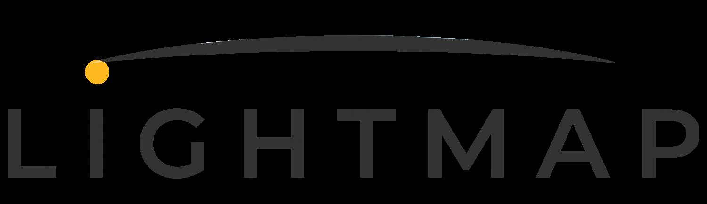 Lightmap logo solo scritta