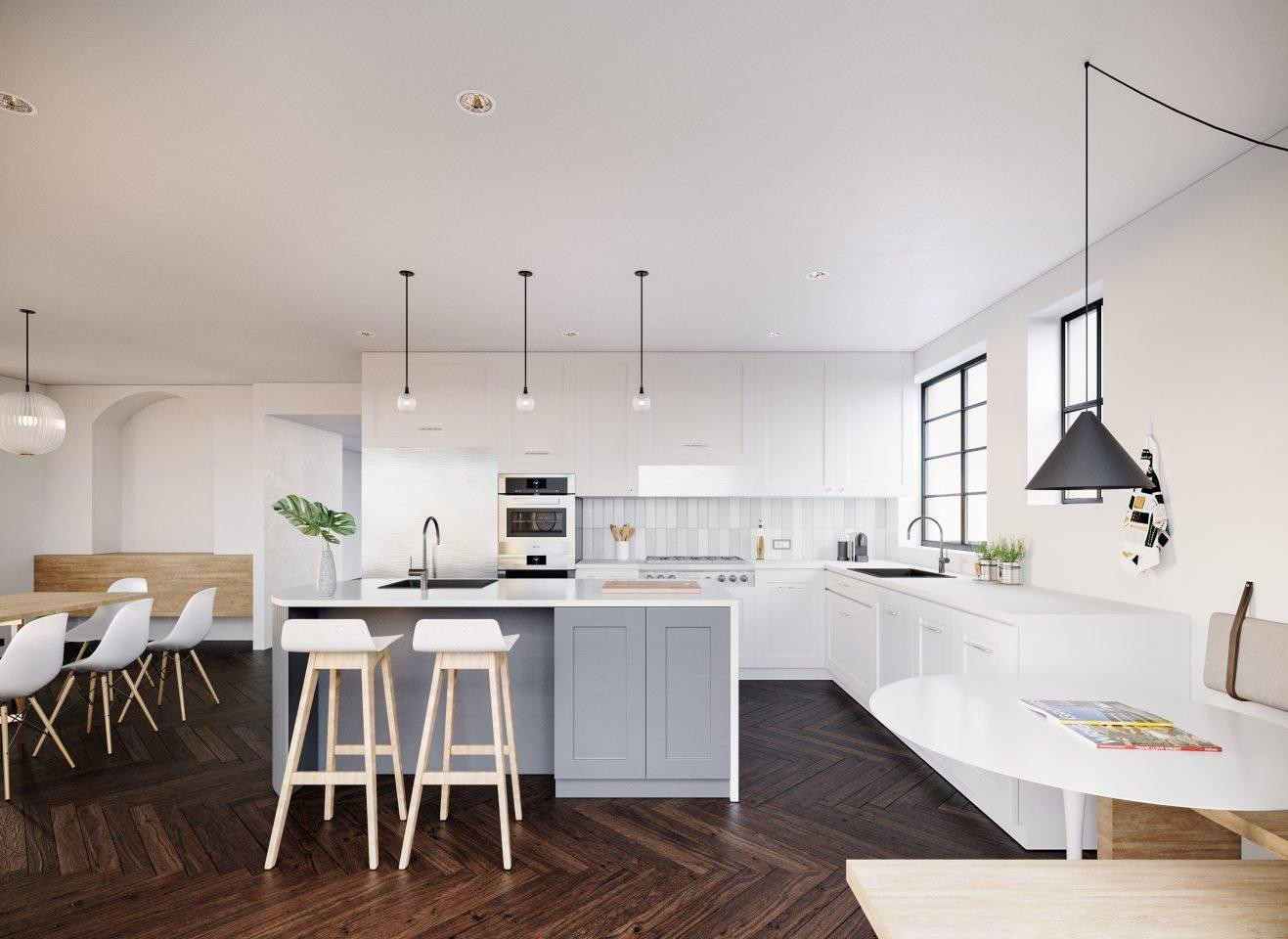 Stunning kitchen in queens