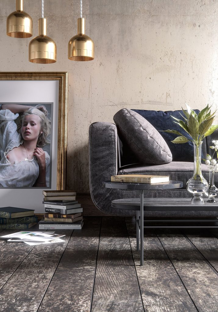 3D rendering luxurious office