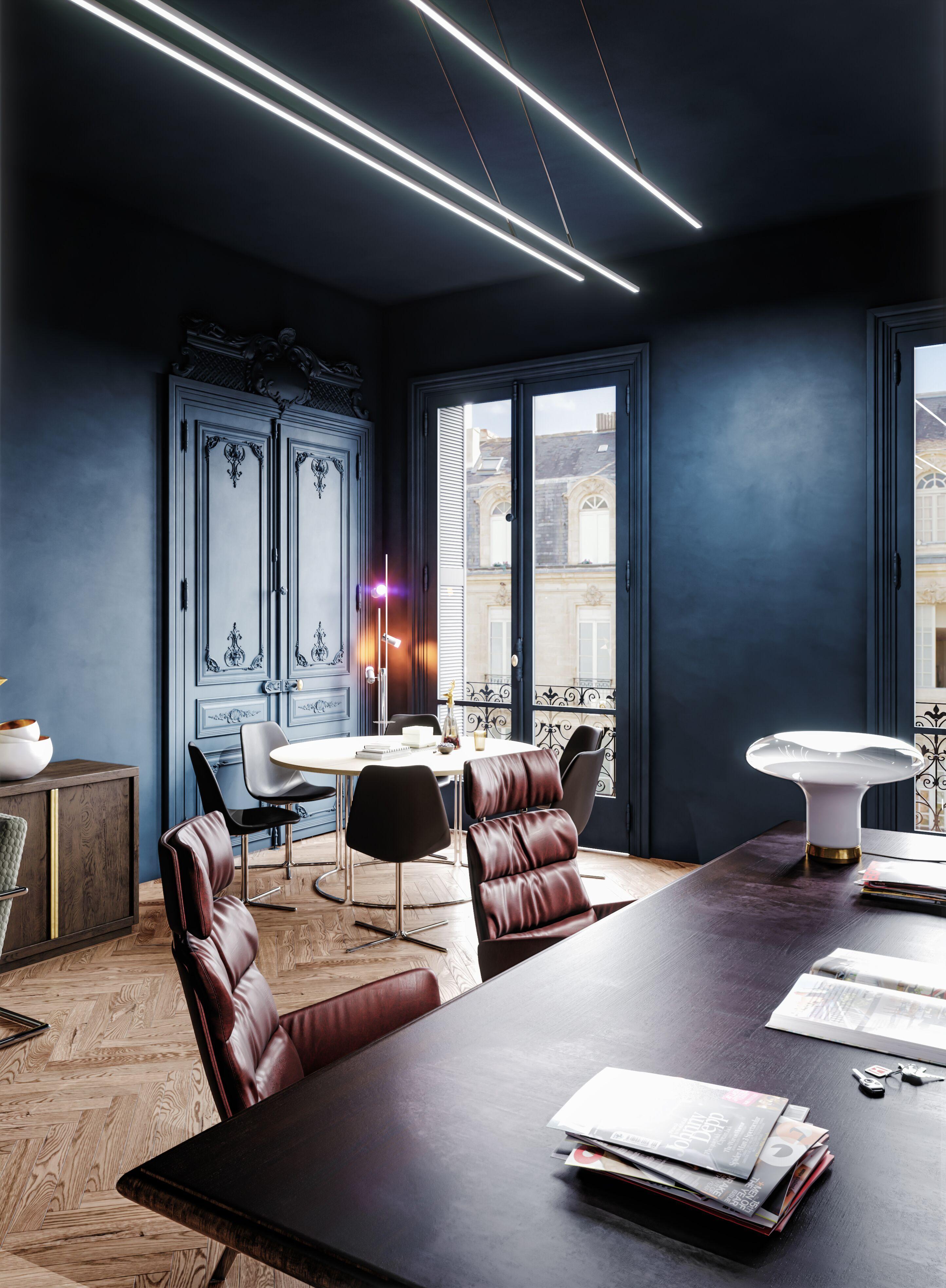 3D rendering modern office table