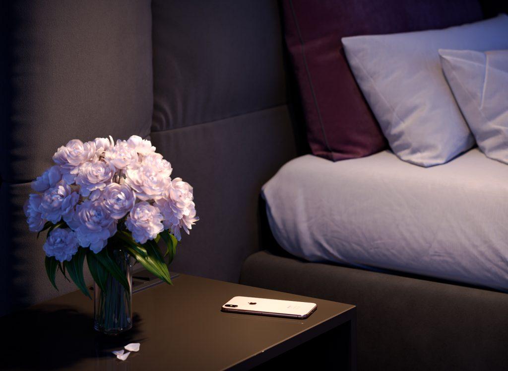 render 3D effetto fotorealistico interior design